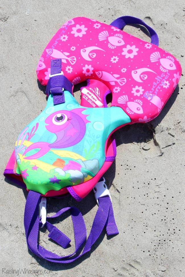 Puddle jumpere infant life vest