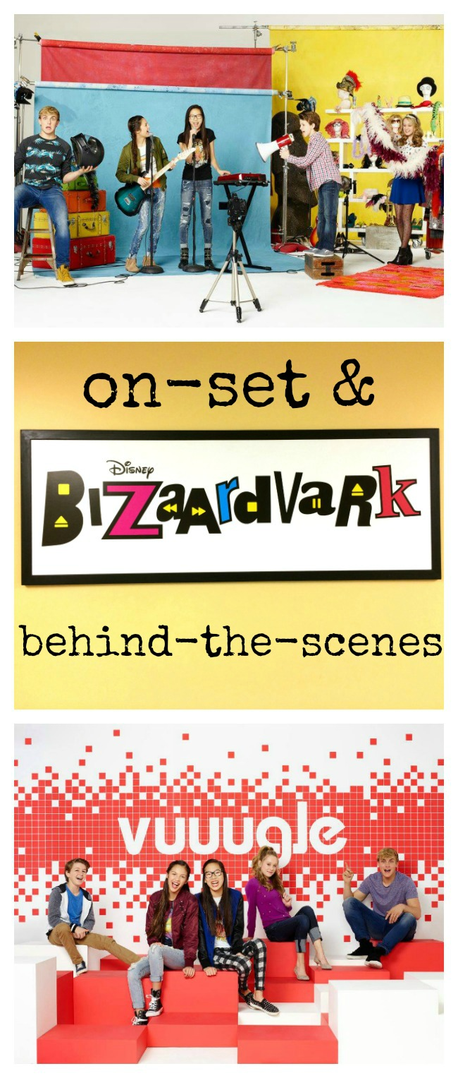 Behind-the-scenes of Bizaardvark