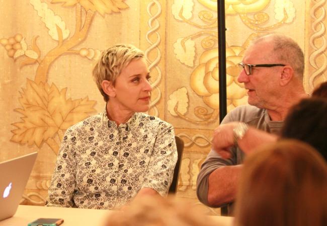 Ellen DeGeneres interview finding Dory