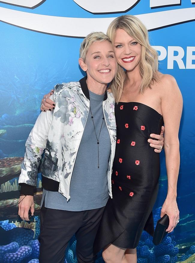 Ellen finding dory Kaitlin Olson