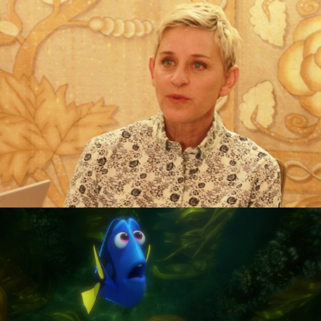 Ellen interview finding dory movie