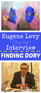 Eugene Levy Interview | Finding Dory's Dad #FindingDoryEvent
