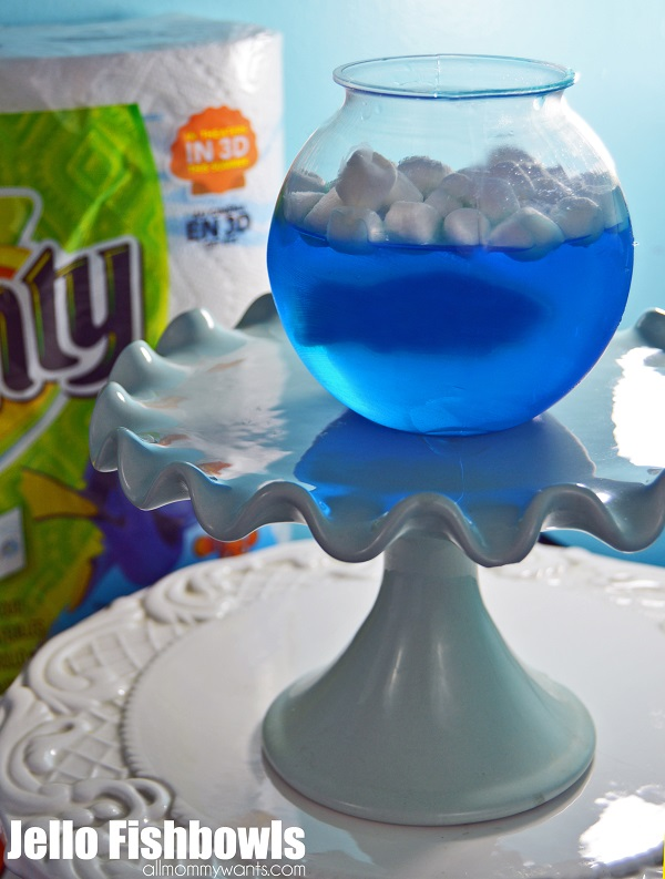 Finding Dory jello fishbowls