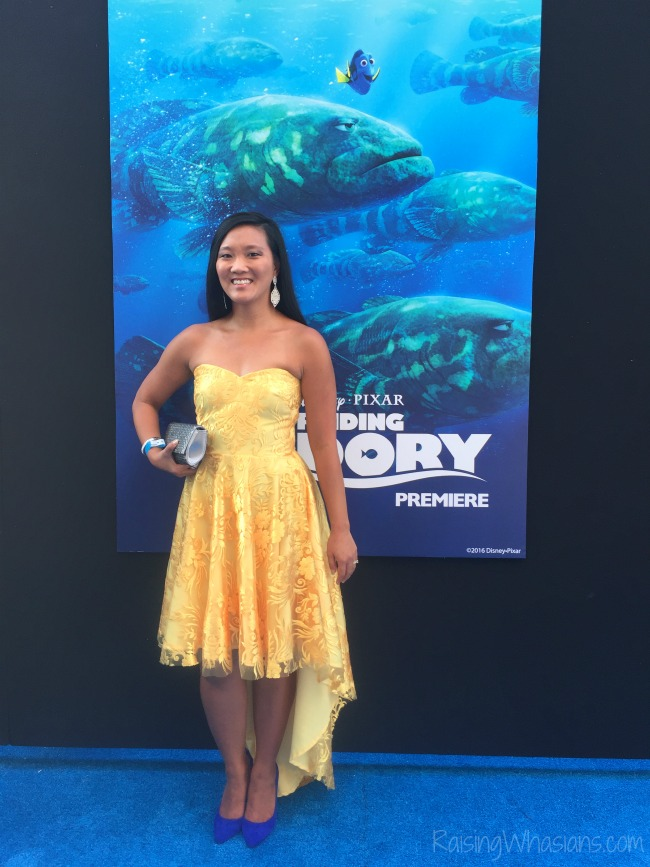 Finding Dory premiere red carpet