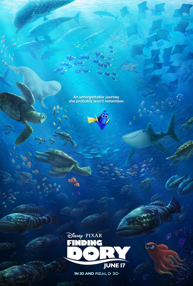 Finding Dory products bounty