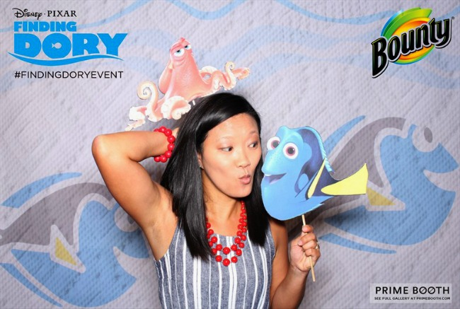 Finding Dory photo booth ideas