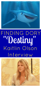 "Kaitlin Olson Interview | Finding Dory & Her ""Destiny"" as a Mom #FindingDoryEvent"