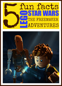 5 Lego Star Wars: The Freemaker Adventures Fun Facts #LegoFreemakerEvent