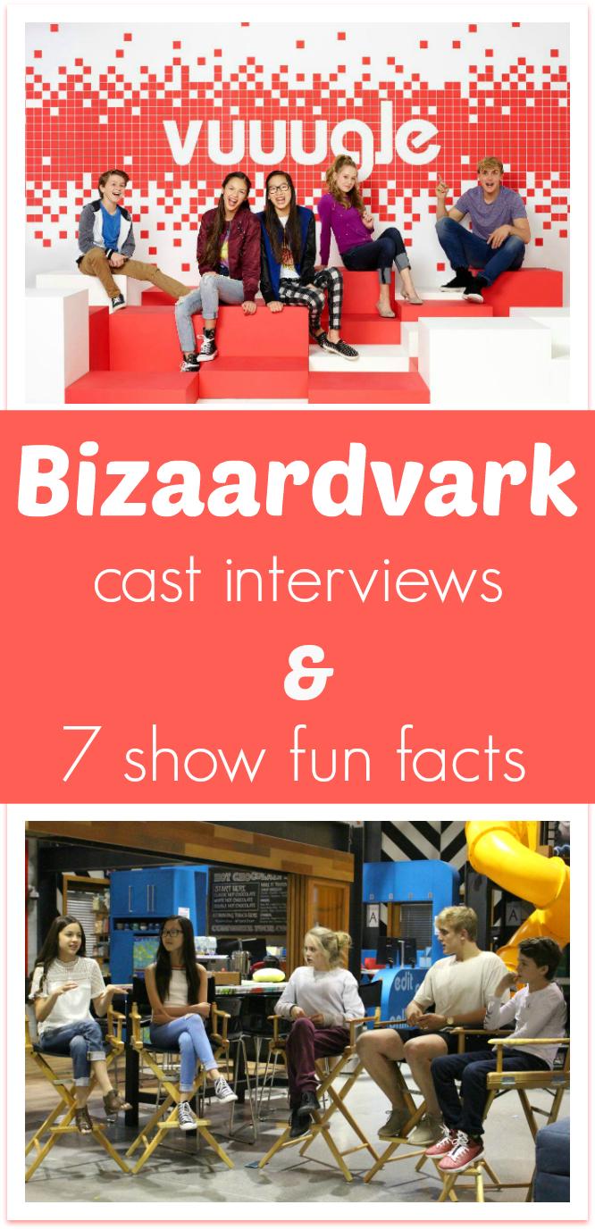 Bizaardvark interview 7 fun facts about the cast