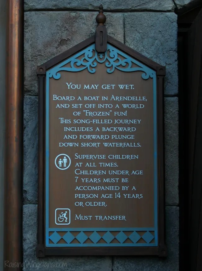 Frozen ever after ride tips