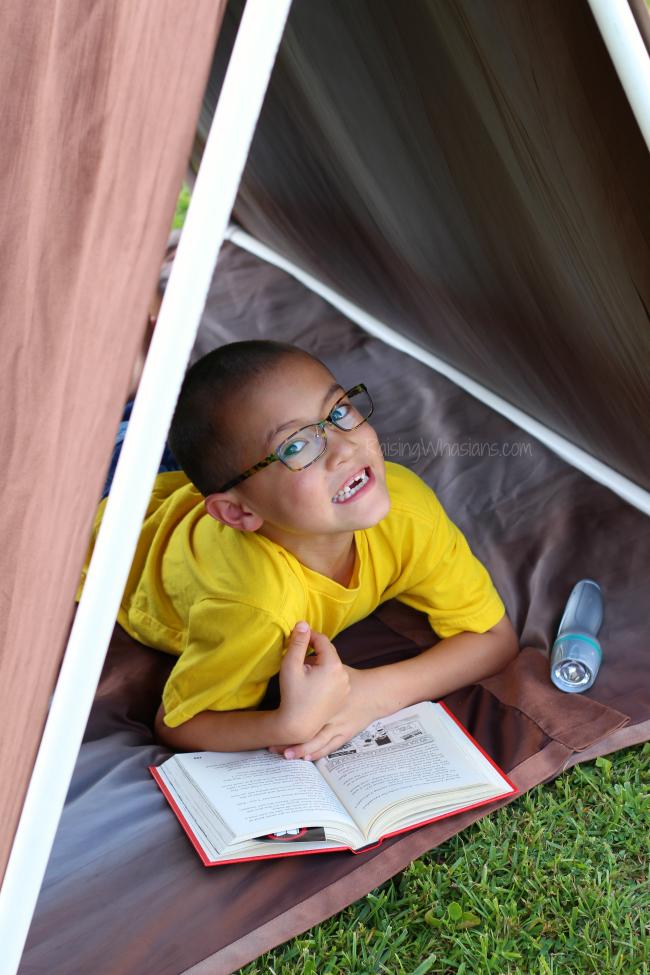 DIY tent for kids