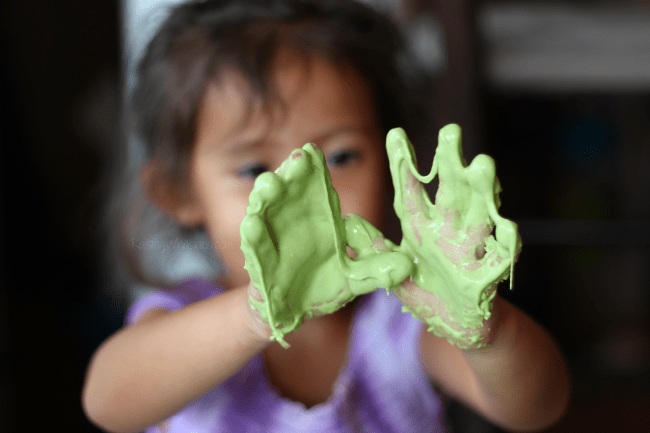 Edible slime for allergies