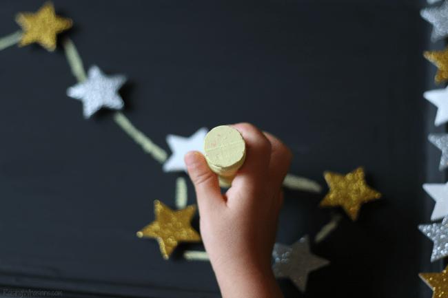 Kids constellation craft