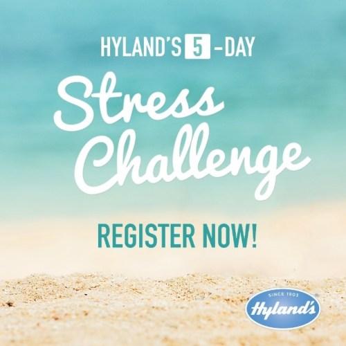 2016 Hyland's stress challenge logo