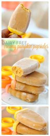 Creamy pumpkin popsicles pinterest