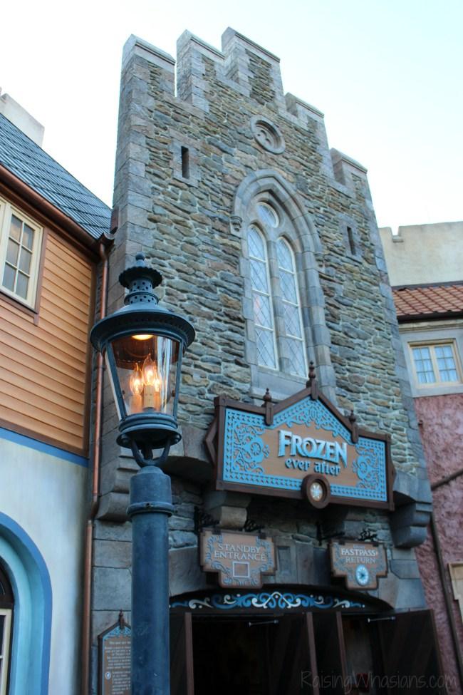 Frozen ever after tips Walt Disney World