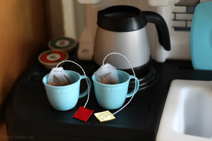 No sew felt tea bags