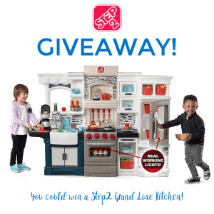 Step2 Grand Luxe Kitchen Giveaway – $349+ Value