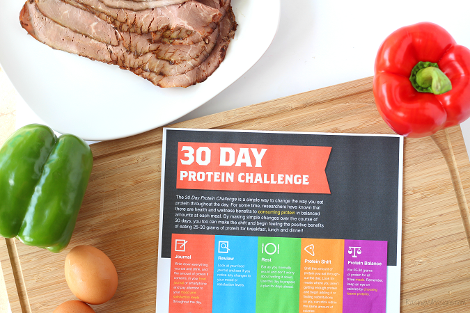 30 day protein challenge beef