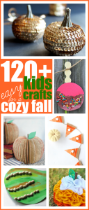120+ Easy Kids Craft Ideas for a Cozy Fall Season