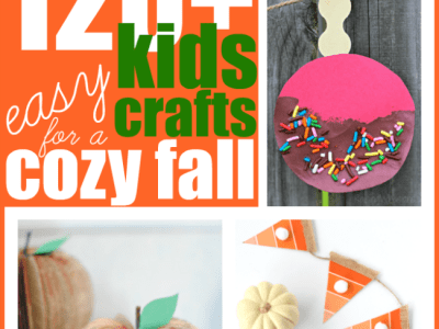 Easy kids crafts for a cozy fall season