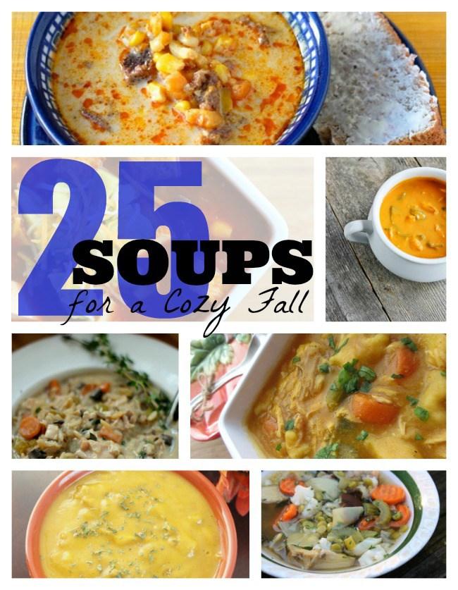 Soup recipe round up