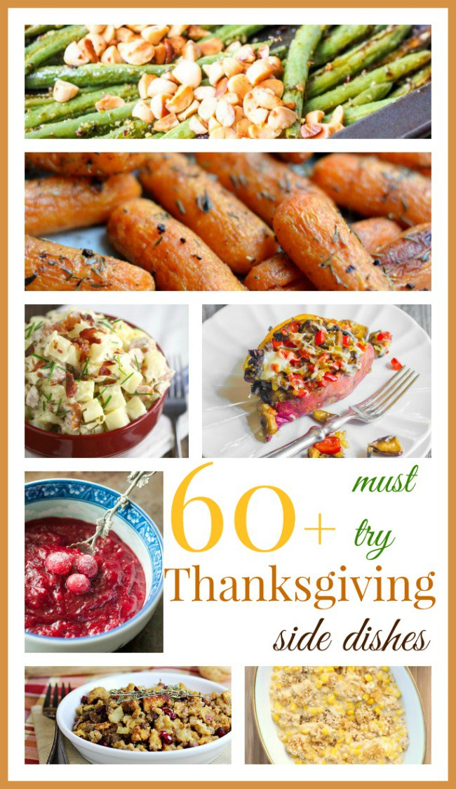 Thanksgiving side dishes round up
