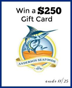 Anderson Seafoods for the Holidays