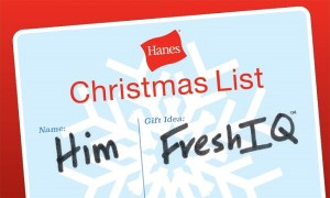 Give Fresh with Hanes FreshIQ for Him