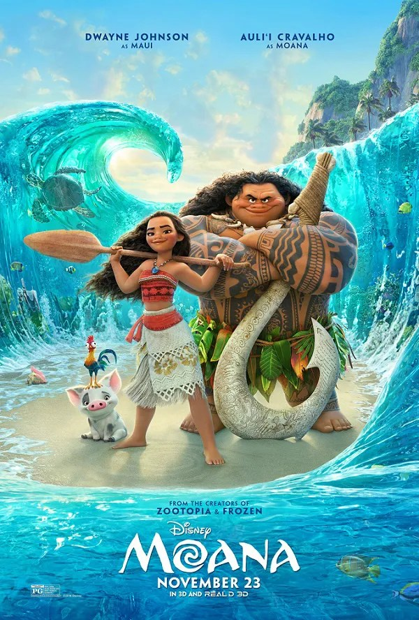 Moana movie review | safe for kids?