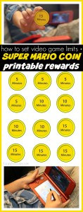 Setting Video Game Limits with Nintendo 3DS XL + Printable Rewards