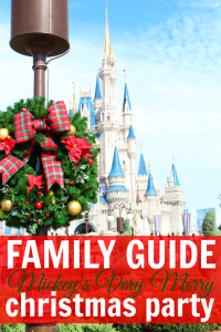 Family Guide to Mickey's Very Merry Christmas Party #VeryMerry
