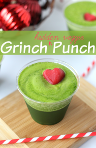 Kid-Approved Christmas Grinch Punch