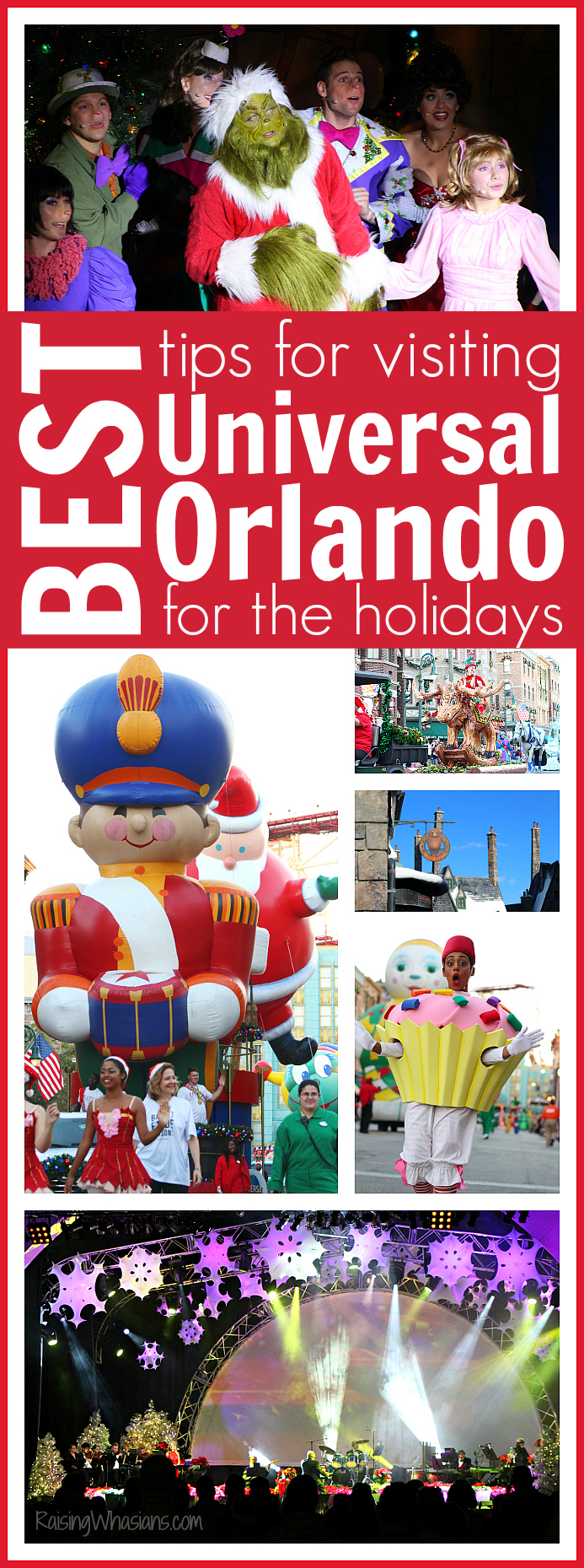 Universal Orlando holiday celebration tips pinterest
