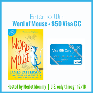Word of Mouse Book by James Patterson + $50 Visa Giveaway
