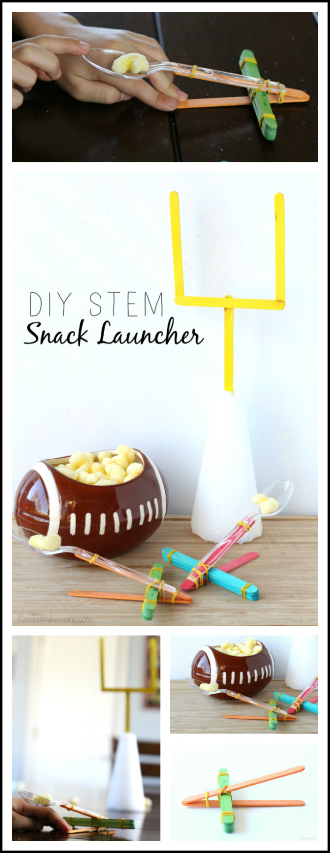 DIY STEM snack launcher pinterest