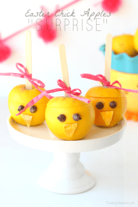 "Easter Chick Apples ""Surprise"""