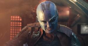 Karen Gillan Interview | Guardians of the Galaxy 2 – Let's Give Nebula a Hand #GotGVol2