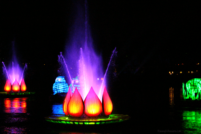 Rivers of light show tips