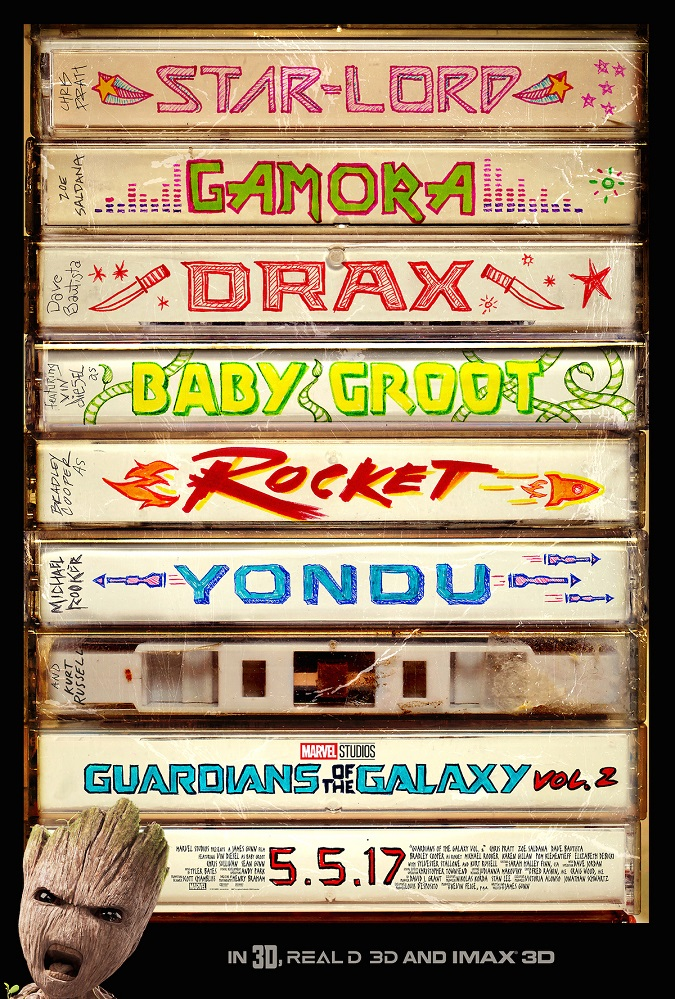 Teaser poster Guardians of the Galaxy Vol. 2
