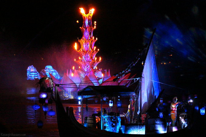 Tips rivers of light show