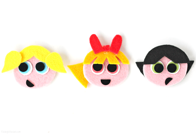 Craft powerpuff girls