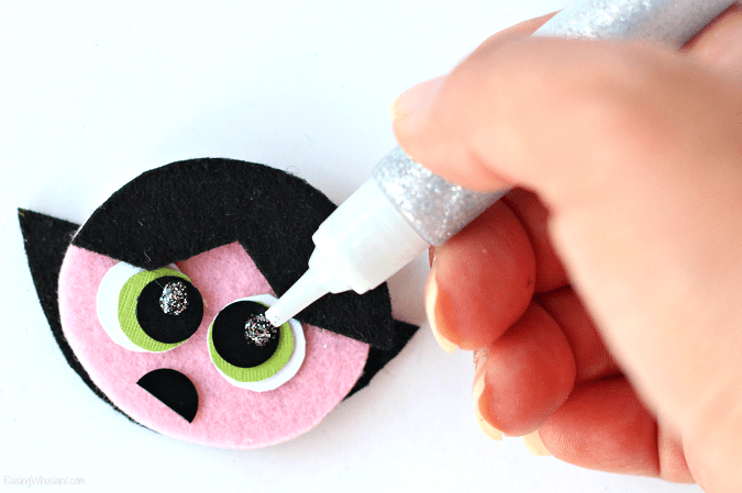 Powerpuff girls craft tutorial