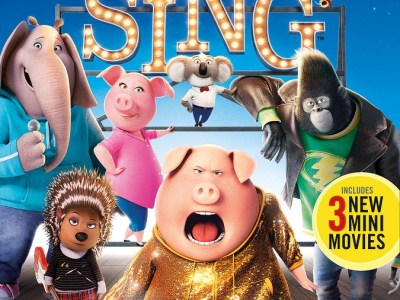 Sing blu-ray combo pack