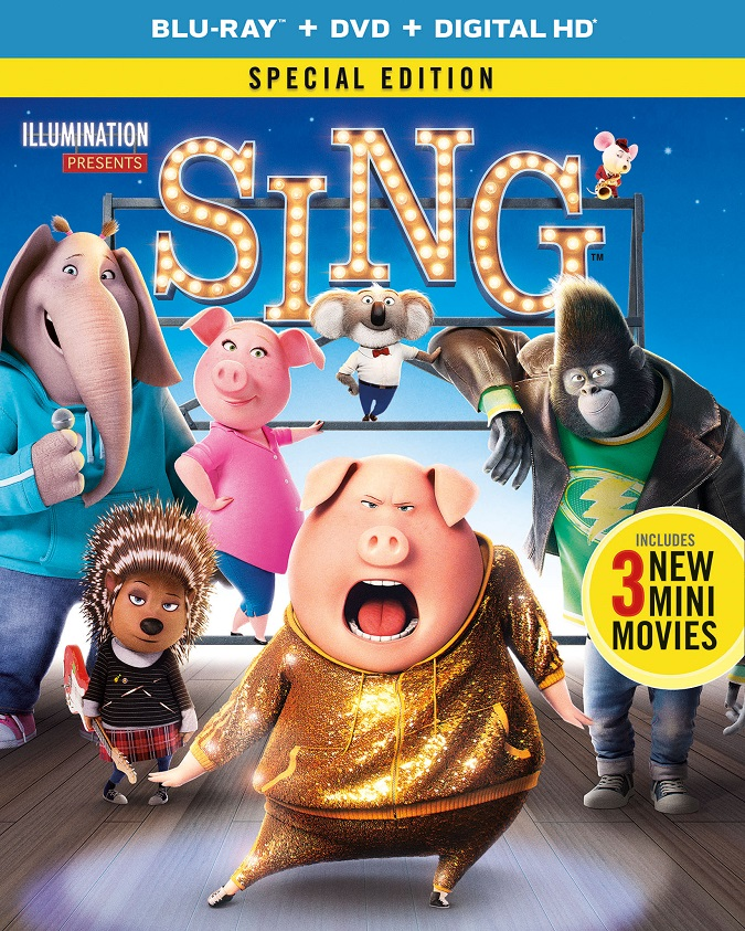 Sing special edition blu-ray combo pack giveaway
