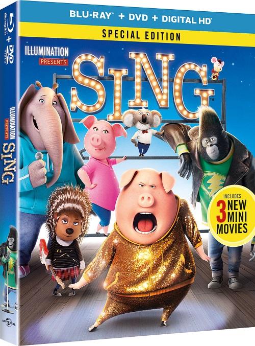 Sing blu-ray giveaway
