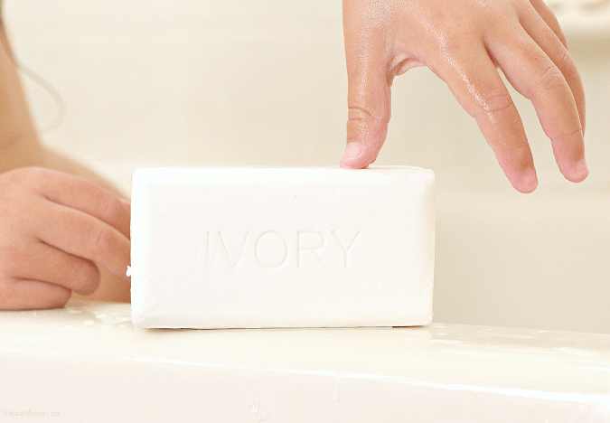 Doctor recommended ivory soap for my daughter's new diagnosis