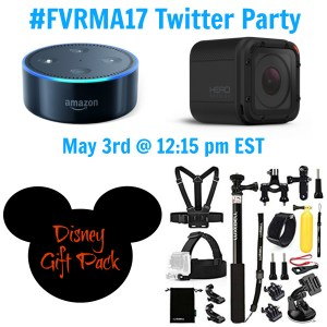 Join Me for the #FVRMA17 Twitter Party on May 3rd for PRIZES!