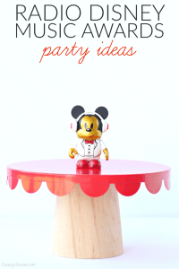 Radio Disney Music Awards Party Ideas + Printables