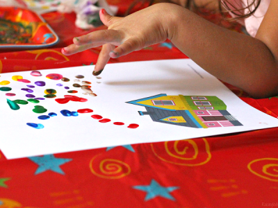 Disney up craft for preschoolers